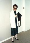 1990 Director of Design at HoK, holding the Coach shoulder bag I now treasure.jpg