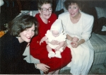 1992 With mother Lois, Janet and Kristen.jpg