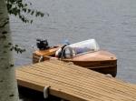 2008-09-20 At Duck Lake, bringing in our boat, Miss Powassan.jpg